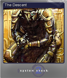 System shock 2 trading cards