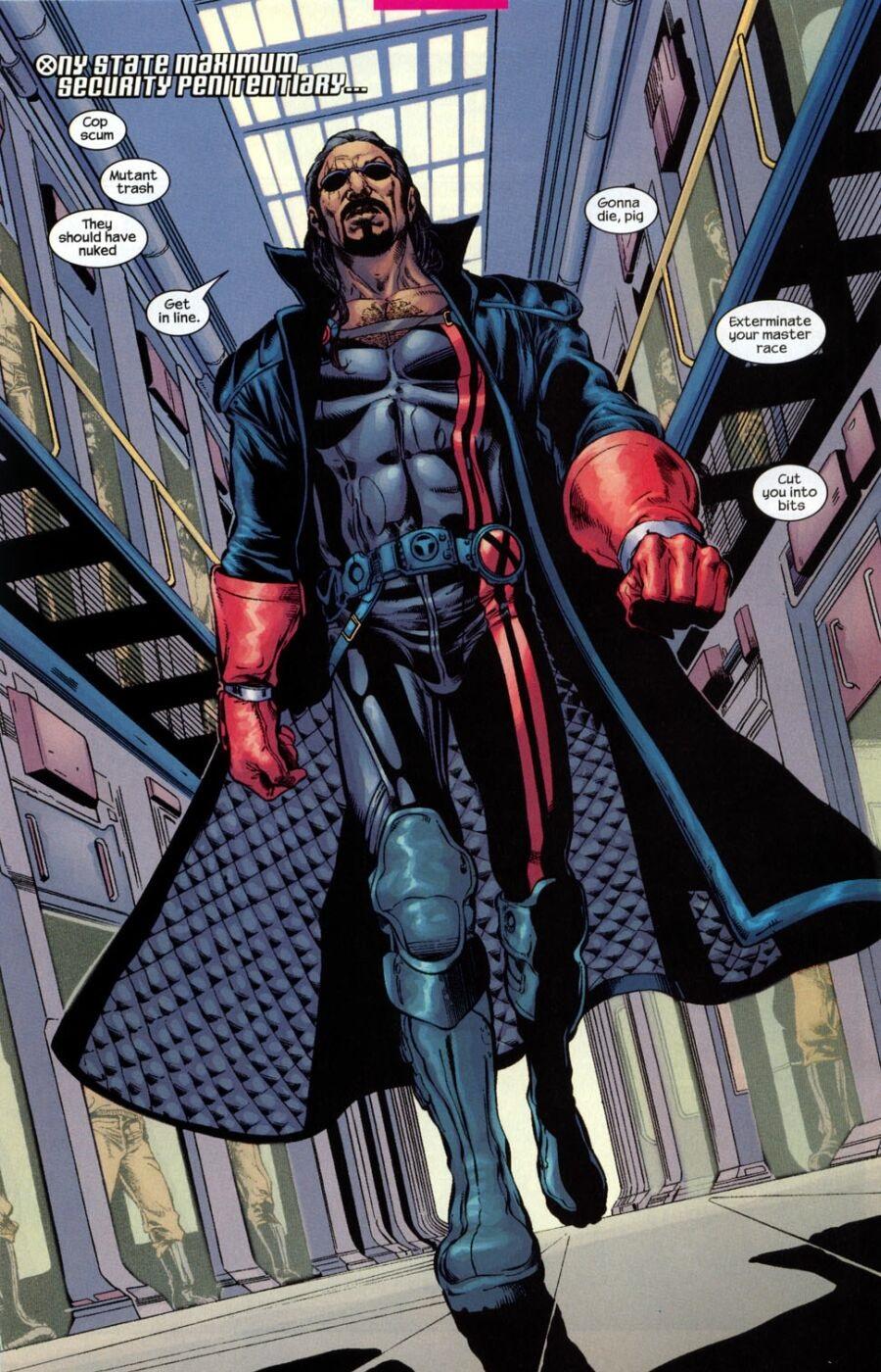 Lucas Bishop Marvel New Marvel Fanon