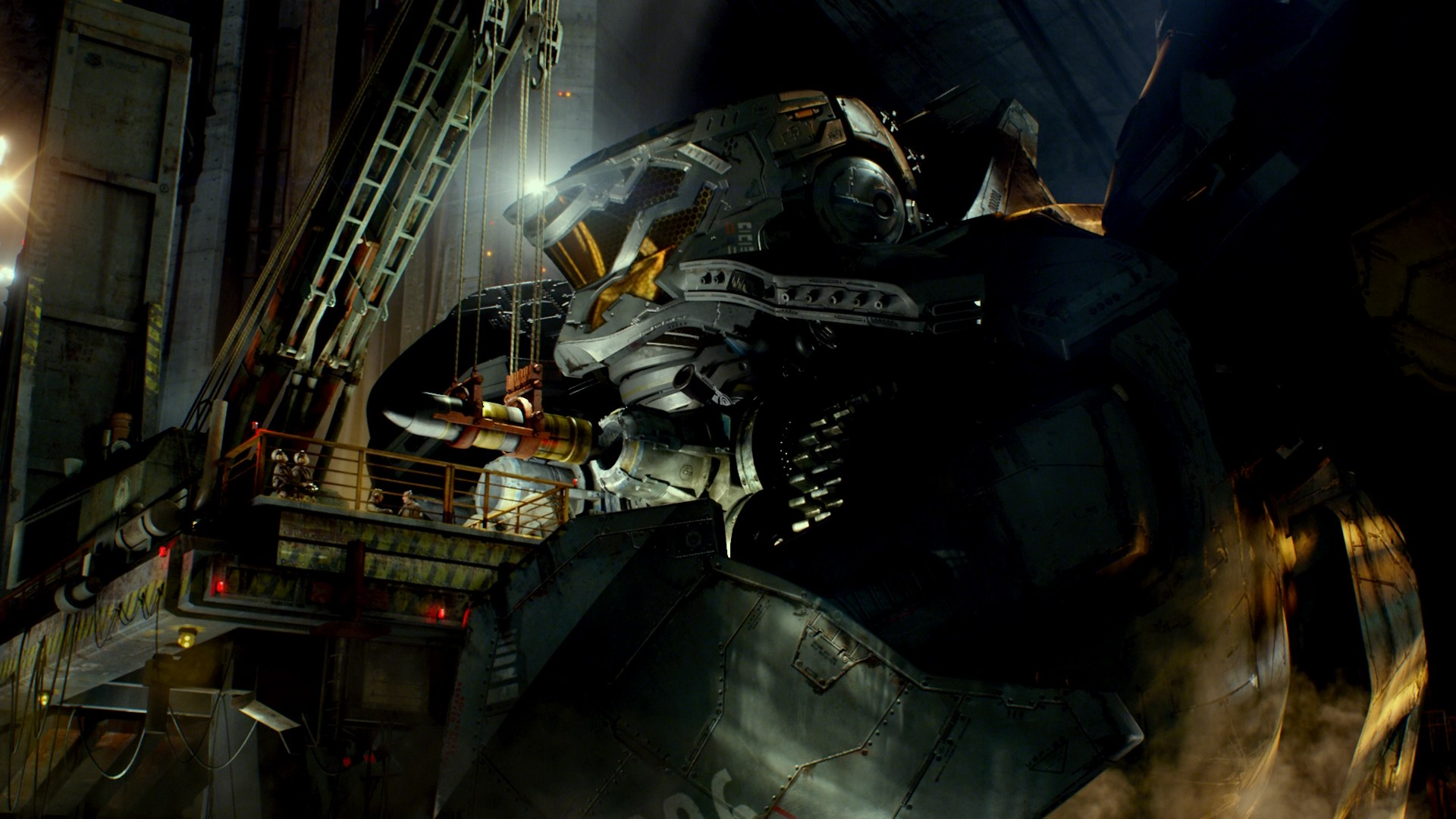 Striker Eureka (vs The World): 1.0 You Are (Not) Alone ... Pacific Rim Cherno Alpha Destroyed