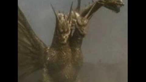 King Ghidorah Heisei Roars
