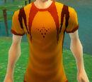 Orange Designer T-Shirt