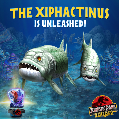Xiphactinus - Jurassic Park Wiki - Wikia
