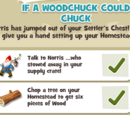 If a woodchuck could chuck