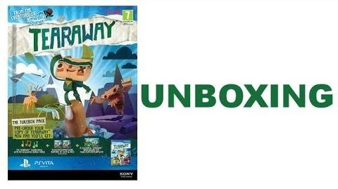 Tearaway - PS VITA - UNBOXING