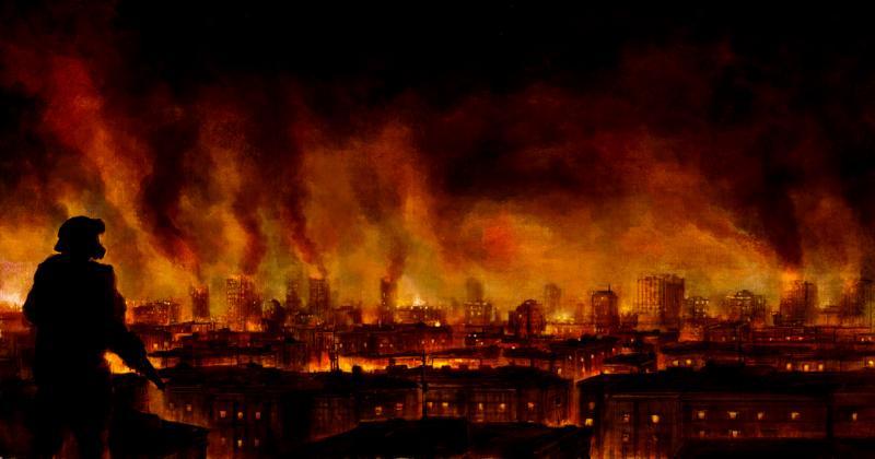 A insurreição de Poseidon. - Página 2 Burning_city
