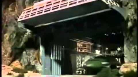 Thunderbird 2 launch sequence