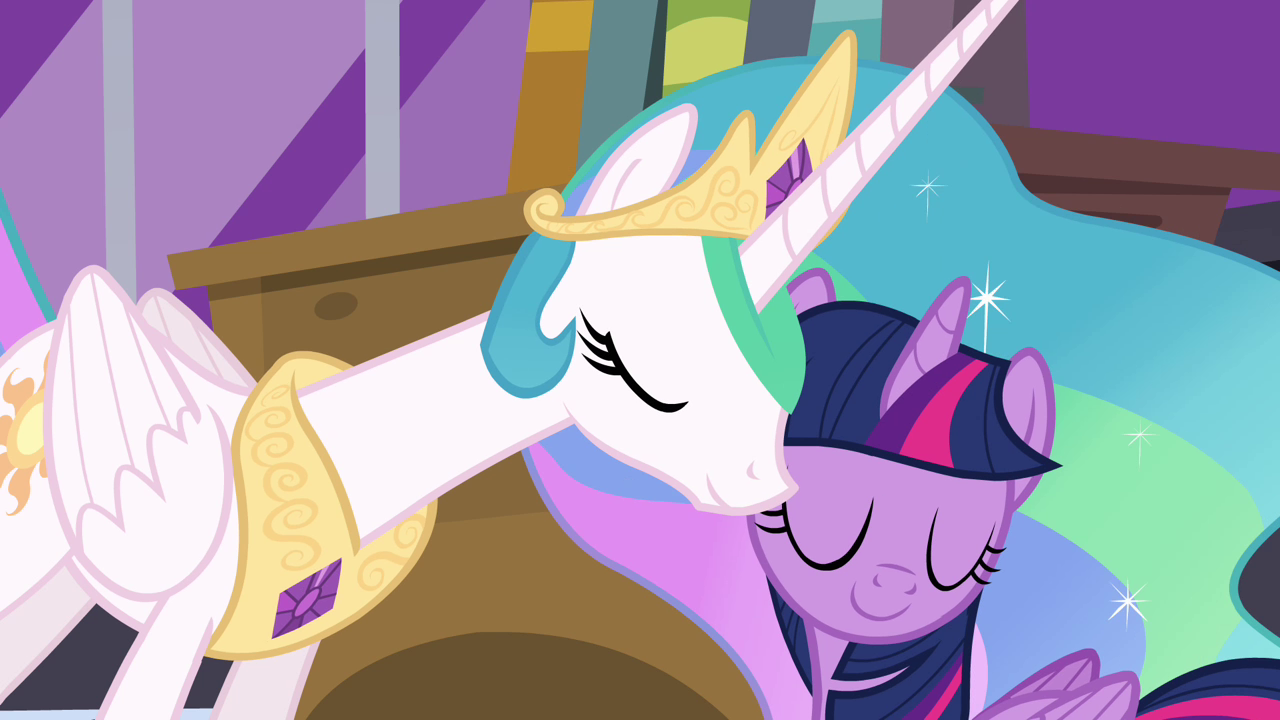 Celestia and Twilight ...