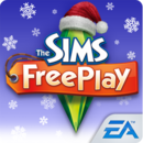 The Sims Freeplay christmas logo.png