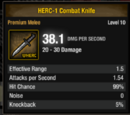 HERC-1 Combat Knife