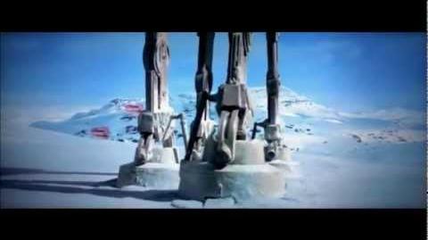 Star Wars Empire Strikes Back Battle Of Hoth Scene