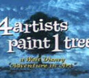 Four Artists Paint One Tree
