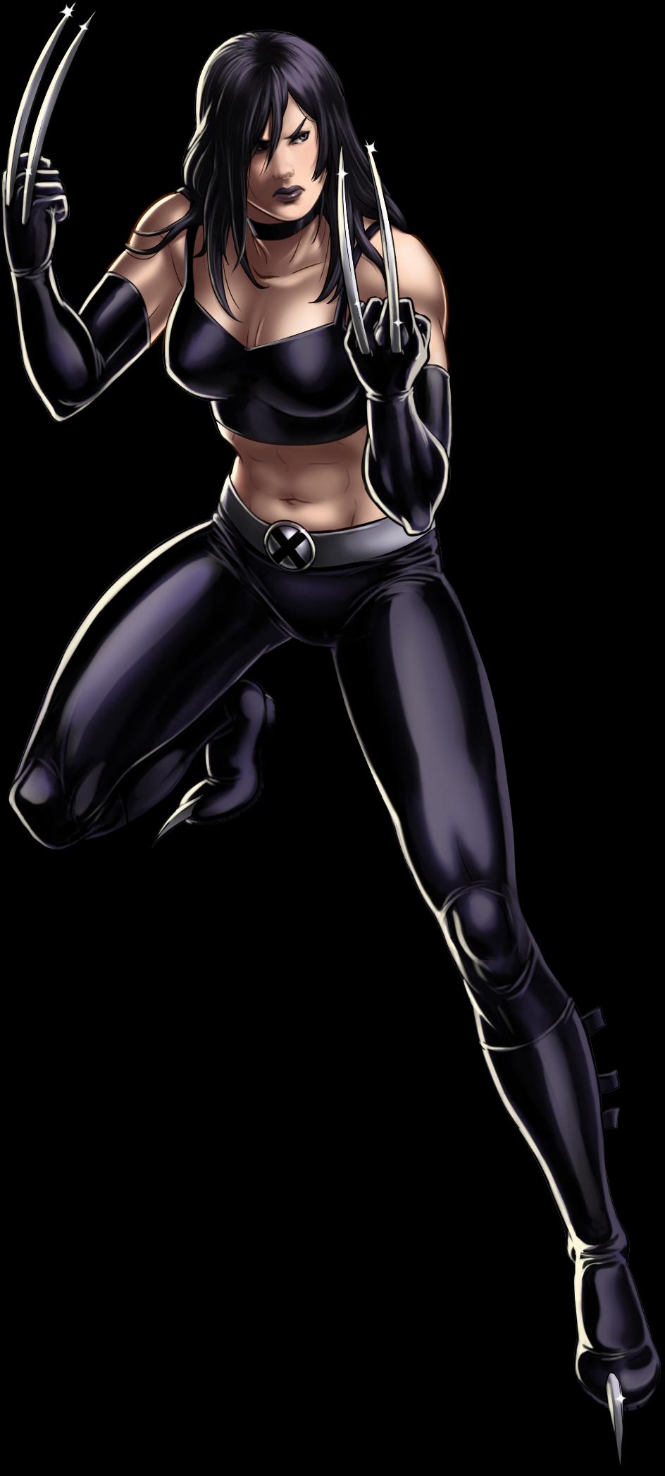 Ficheiro:X-23 Artwork Completo.png - Wiki Marvel: Avengers ... X 23 Marvel Avengers Alliance
