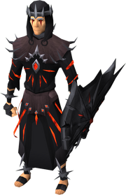 Robes of subjugation equipped