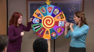 use a chore wheel to divvy up household tasks