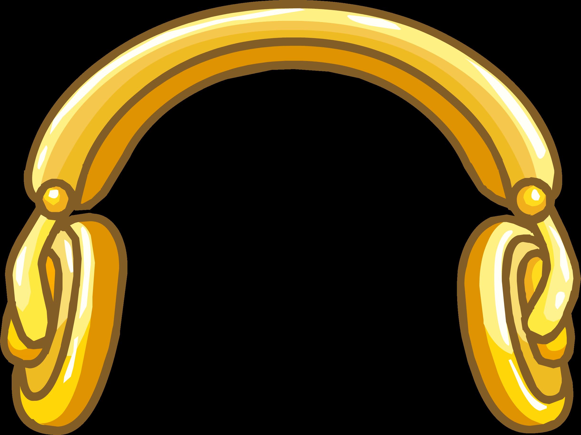 Golden Headphones Club Penguin Wiki The Free Editable