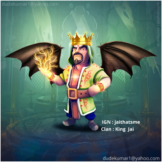Clash Of Clans Wizard King File:wizard king.png