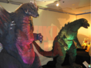 Suit and Puppet Museum - SpaceGodzilla and Godzilla Junior.png