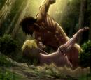 Titan Assaillant vs Titan Féminin (combat 1)
