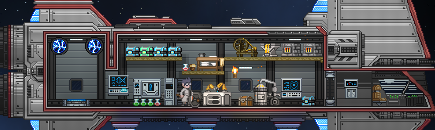 how to add background blocks on ship starbound