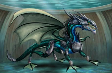 Dragons Of Atlantis Water Dragon