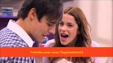 """Violetta - León and Violetta sing """"More Tears"""" (English)"""