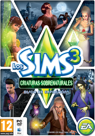 LosSims3 CriaturasSobrenaturales Portada