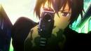 Rentaro holding his gun (Pre Release).png