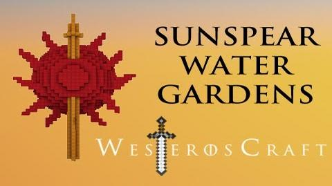 Game of Blocks Game of Thrones - Sunspear Water Gardens in Minecraft-0