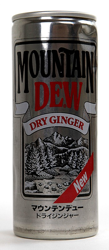 Dry Ginger - The Mountain Dew Wiki - Flavors, Promotions ...