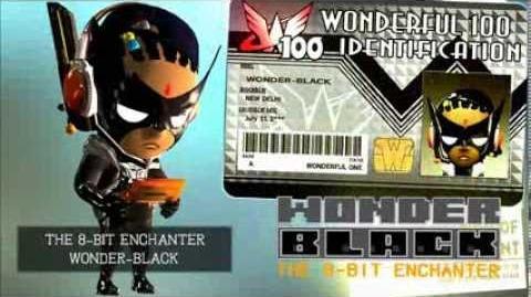 The Wonderful 101 - Wonder-Eyes Transformation, Wonder-Black