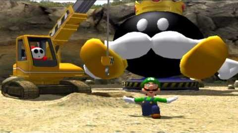 Mario Party 8 Luigi wins by doing absolutely nothing