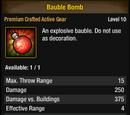 Bauble Bomb