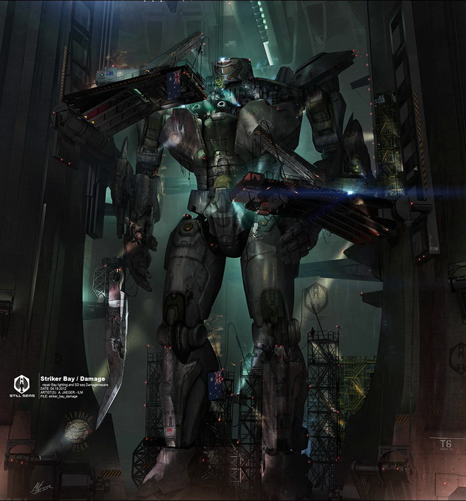 You Catch My Drift? — Pacific Rim Jaeger Striker Eureka ... Pacific Rim Concept Art Pilot