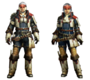 MH4 Armor Set Renders