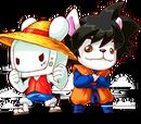 路飛&悟空(5星)