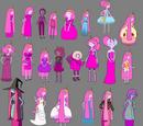 Vestuarios de la Dulce Princesa