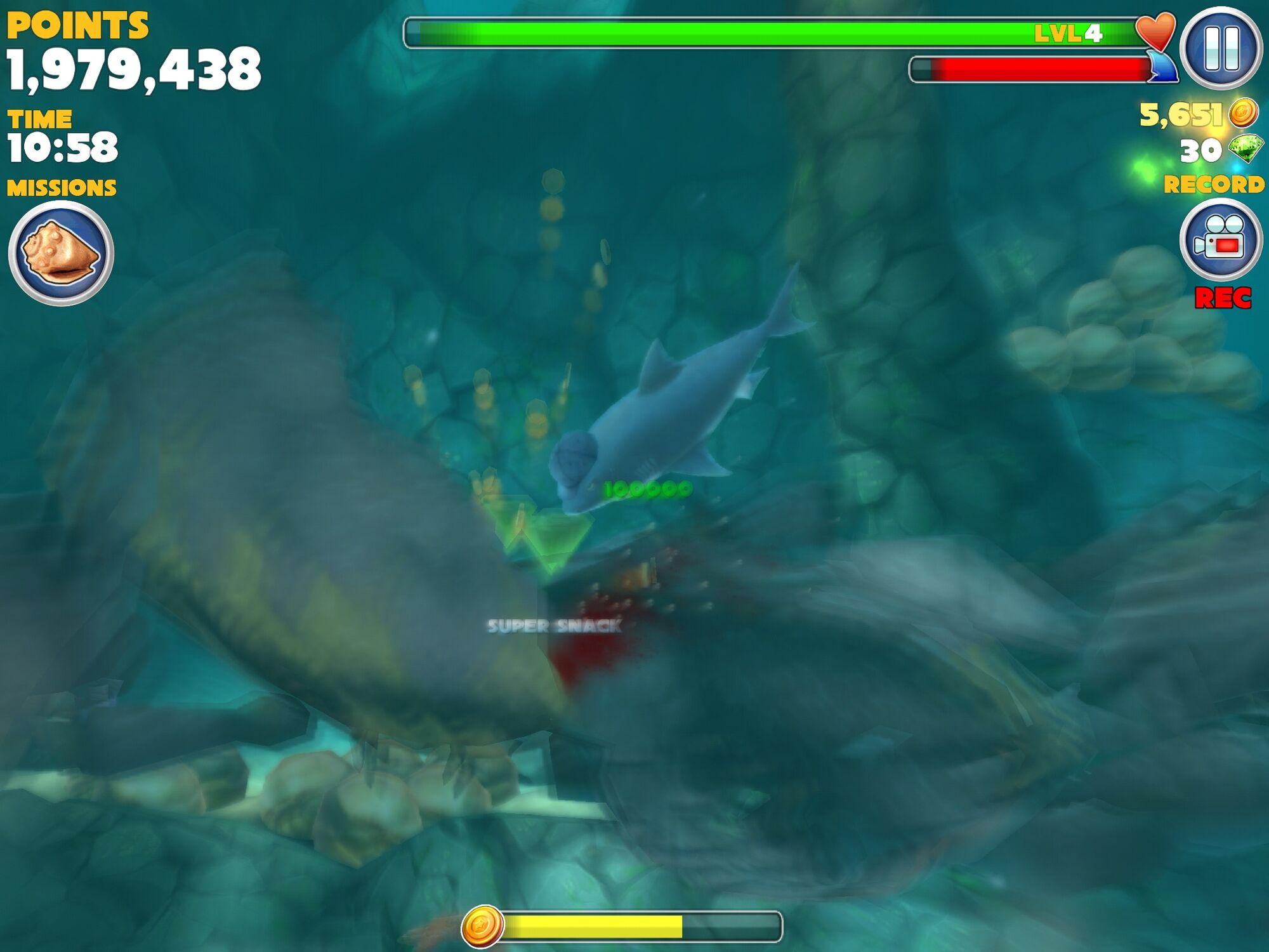 Hungry shark evolution megalodon vs giant crab - photo#54