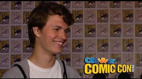 Ansel Elgort Talks DIVERGENT & THE FAULT IN OUR STARS 2013 Comic-Con