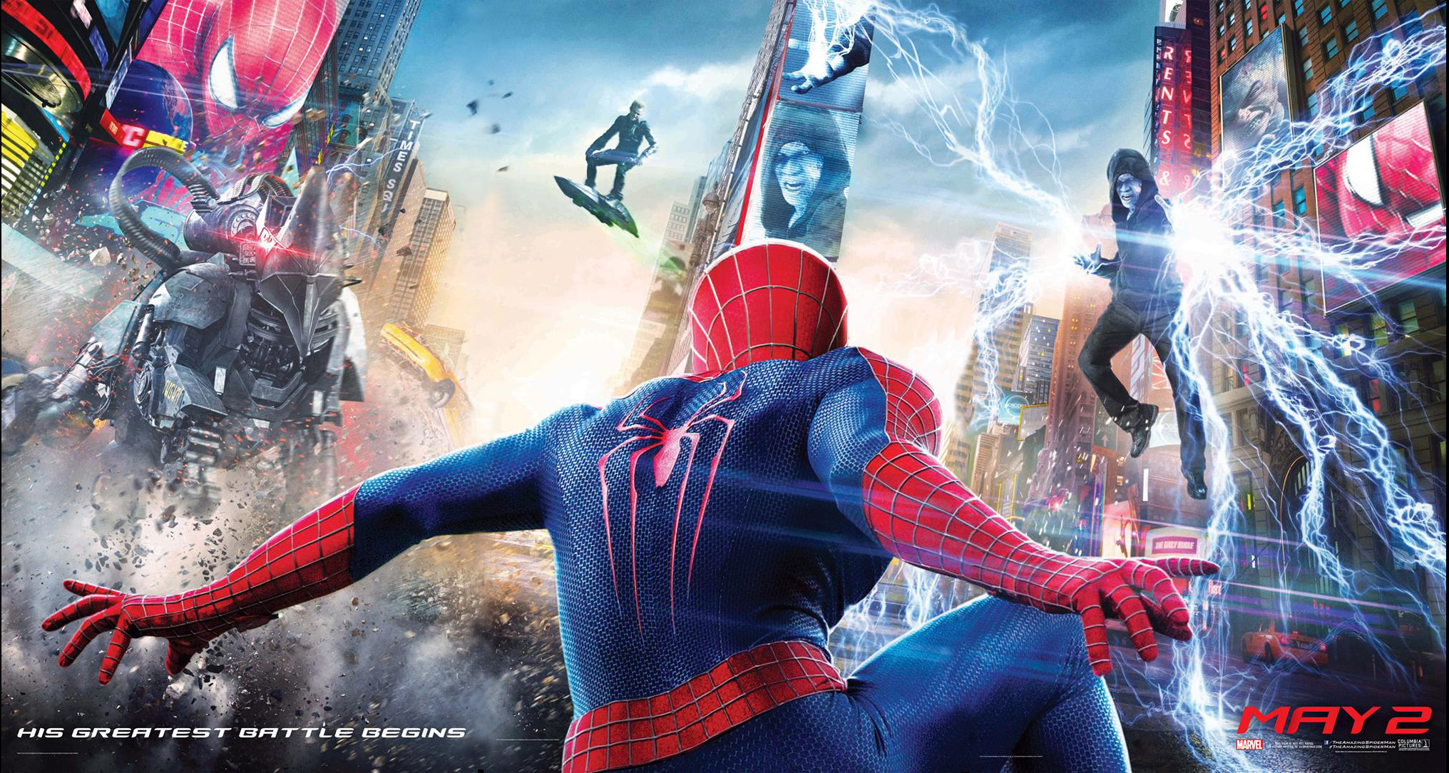 [Review] 4DX3D : The Amazing Spider-Man 2