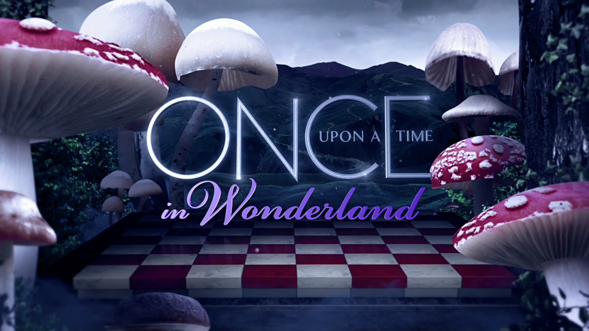 Once Upon a Time Wonderland Dvd Once Upon a Time in Wonderland