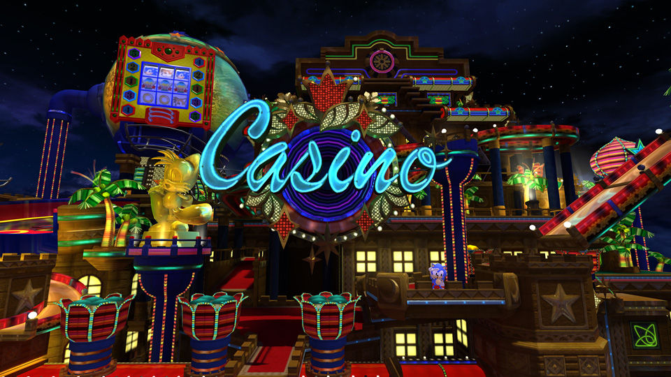 sonic casino night