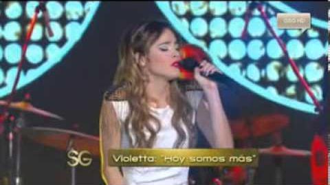 Martina Stoessel chante dans Susana Gimenez