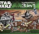 66473 Star Wars Super Pack 3 in 1