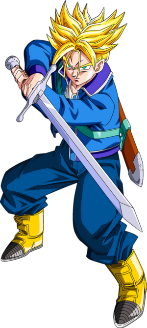 Render Dragon Ball Z Trunks Do Future by zat renders