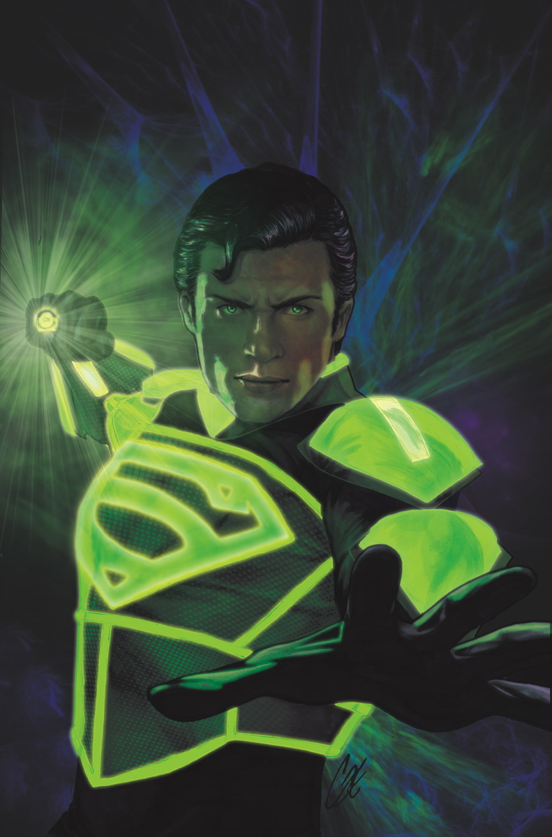 Superman vs green lantern - photo#17