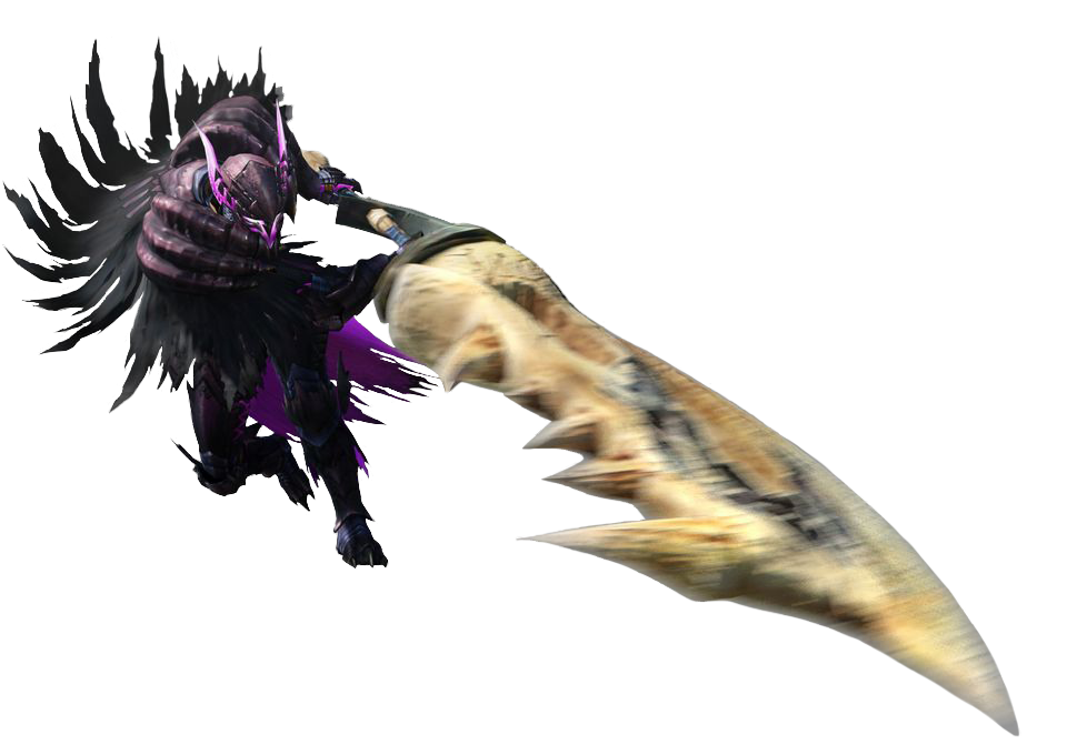 MH4-Great Sword Equipment Render 001Greatsword Monster Hunter