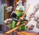 Zielony Ninja