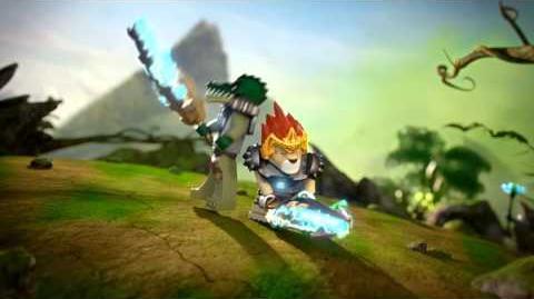 LEGO Chima - prezentacja głównych bohaterów Lavala i Craggera