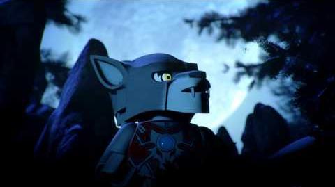 LEGO Chima prezentacja Worriza - przywódcy plemienia Wilków