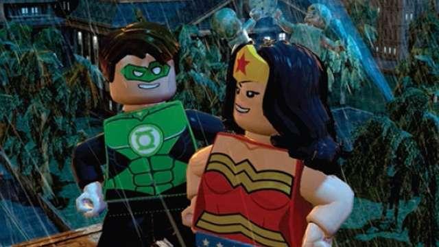 Image - Lego batman 2 2 green lantern wonderwoman.jpg ...